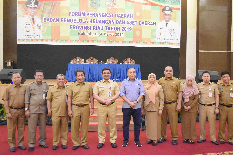 BPKAD Provinsi Riau Gelar Forum Perangkat Daerah