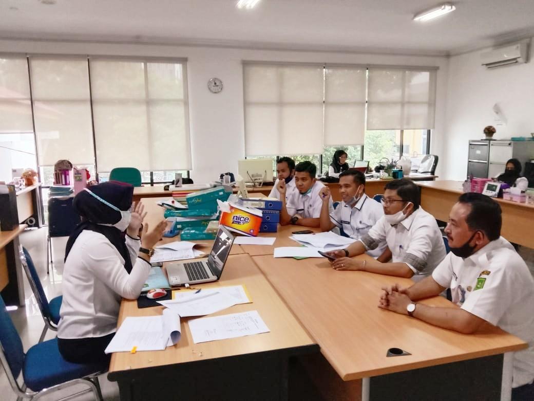 Evaluasi Sistem Akuntabilitas Kinerja dan Instansi Pemerintah (SAKIP) BPKAD Provinsi Riau dgn Tim Evaluator Inspektorat