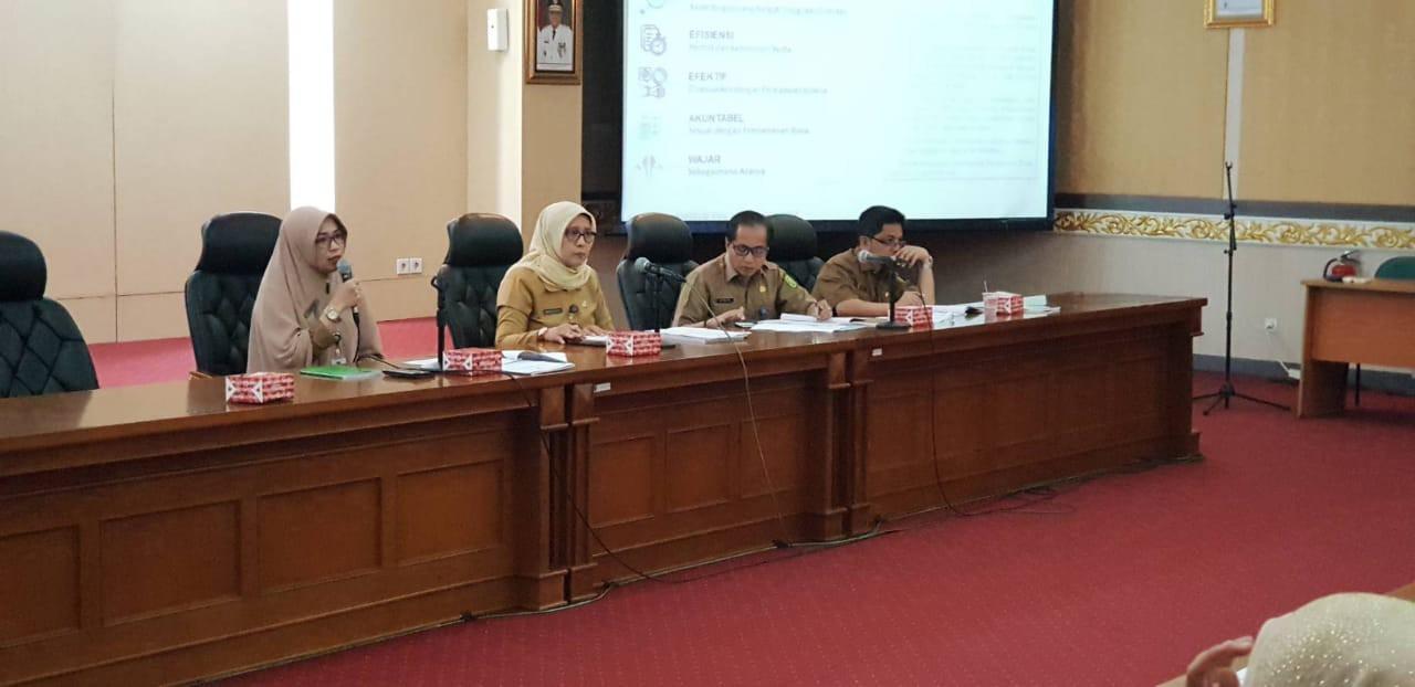 Sosialisasi Peraturan Gubernur Riau Tentang Pedoman Perjalanan Dinas Dan Peraturan Gubernur Riau Tentang Pedoman Belanja Hibah Dan Bantuan Sosial Yang Bersumber Dari APBD